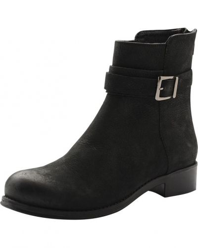Bianco Ankle Leather Boot JJA14