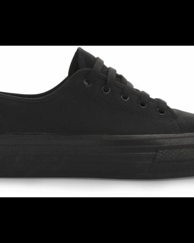 Till dam från Bianco, en svart sneakers.