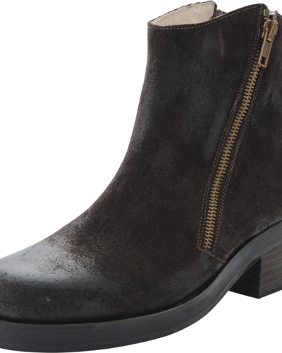Bena Leather Boot Bianco ankelboots till dam.
