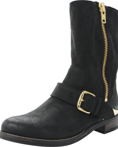 Bene Leather Boot Bianco stövlel till dam.