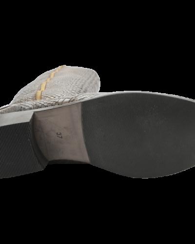 Bianco Bird Leather Boot
