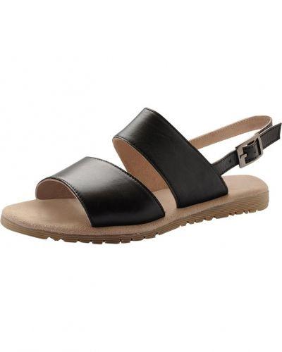 Till dam från Bianco, en svart sandal.