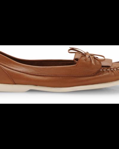 Bianco Fame Leather Shoe