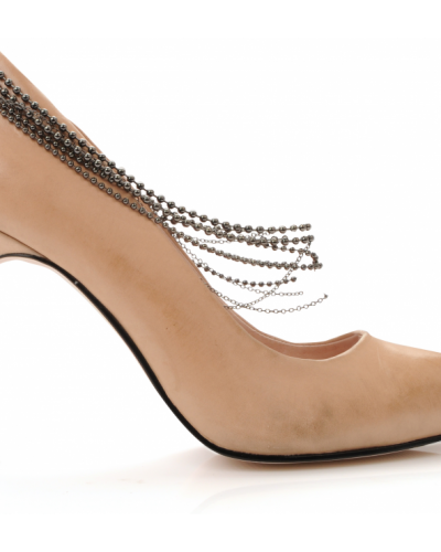Bianco Latifa Leather Shoe