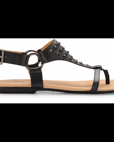 Napoli Leather Sandal Bianco sandal till dam.
