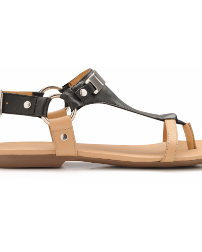 Bianco Nashima Leather Sandal
