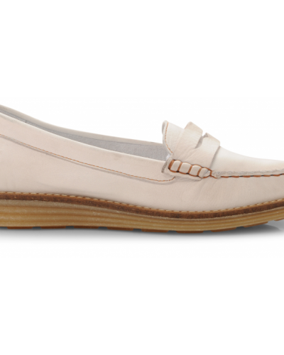 Bianco Netta Leather Shoe
