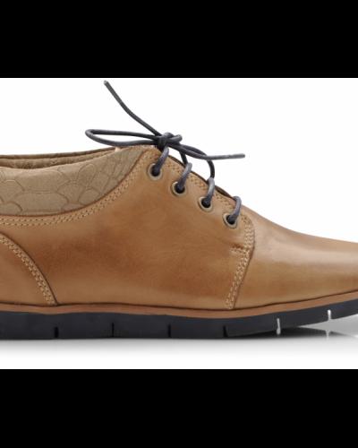 Bianco Nile Leather Shoe