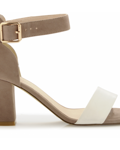 Comfy Slip In Sandal EXP14 Bianco sandal till dam.