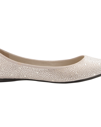 Bianco Pointy Diamond Ballerina JJA14