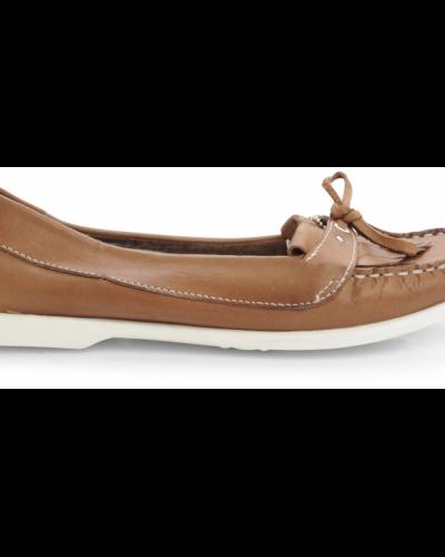 Bianco Serine Boat Shoe