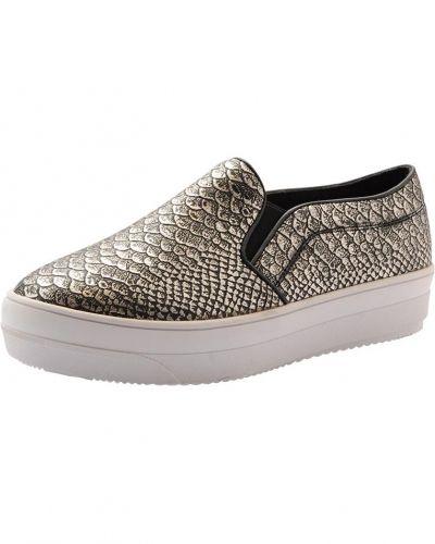 Bianco Snake Loafer Flatform MAM15