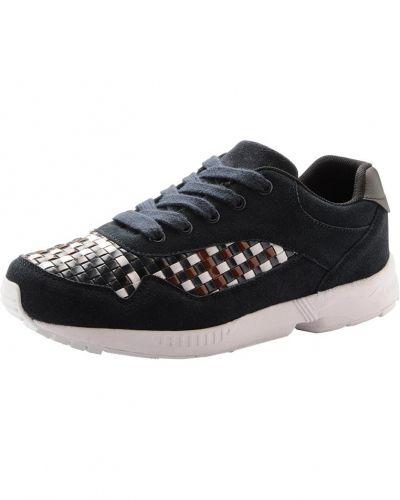 Sneaker W. Woven detail JJA15 Bianco sneakers till dam.