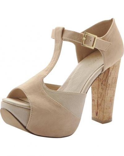 Brun sandal från Bianco till dam.