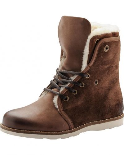 Warm Lace Up Boot RERUN Bianco vinterstövlel till dam.
