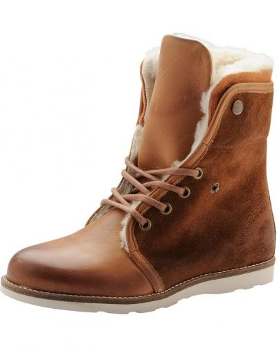 Warm Lace Up Boot SON14 Bianco vinterstövlel till dam.