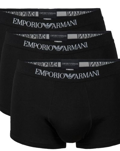 Armani Pure Cotton Trunks 3-pack Emporio Armani boxerkalsong till herr.