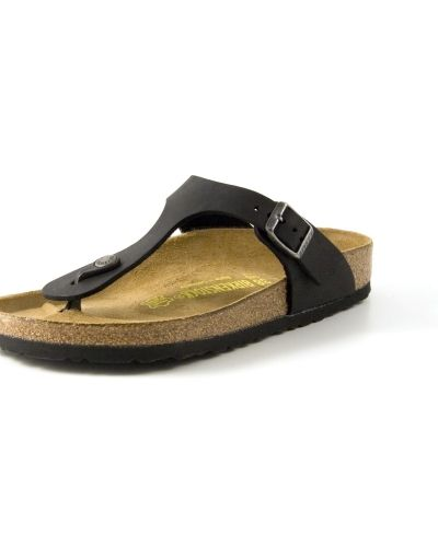 Birkenstock Birkenstock Gizeh Black Oiled Leather