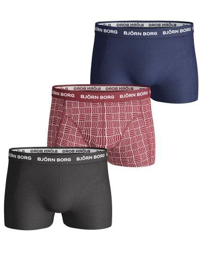 Björn Borg Basic Short Shorts 3-pack Björn Borg boxerkalsong till herr.