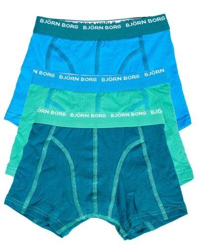 Björn Borg Björn Borg Boys Seasonal Solids Shorts Bril Blue 3-pack