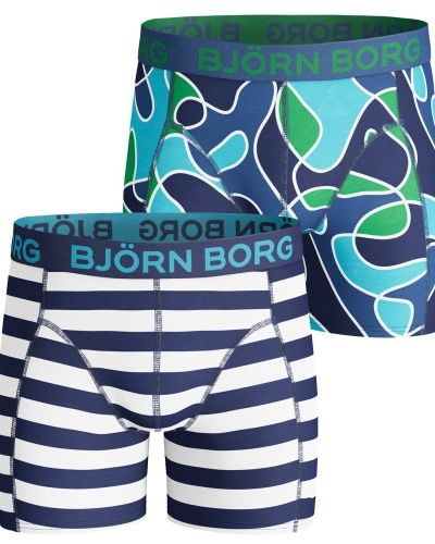 Björn Borg Björn Borg Boys Shorts Pool Side and Camo 2-pack