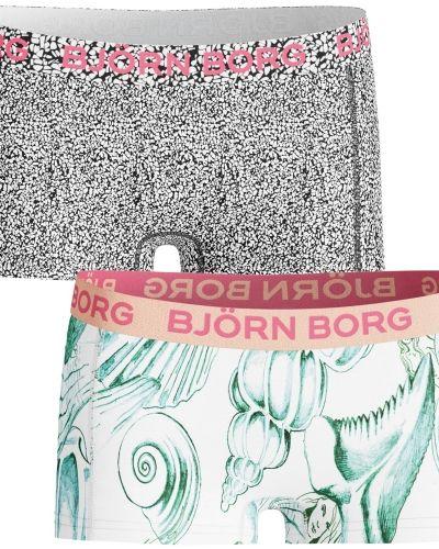 Boxertrosa Björn Borg Mini Shorts Girls Shells & Gravel 2-pack från Björn Borg