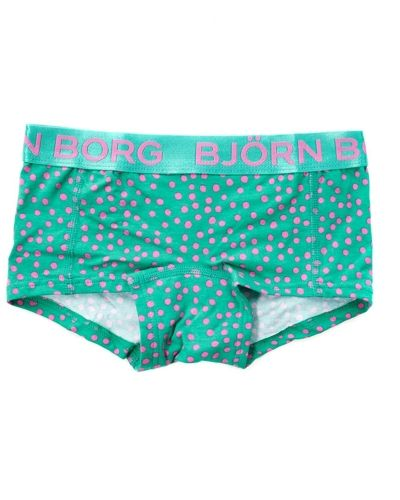 Björn Borg Björn Borg Native Dot Girls Mini Shorts Vivid Grn