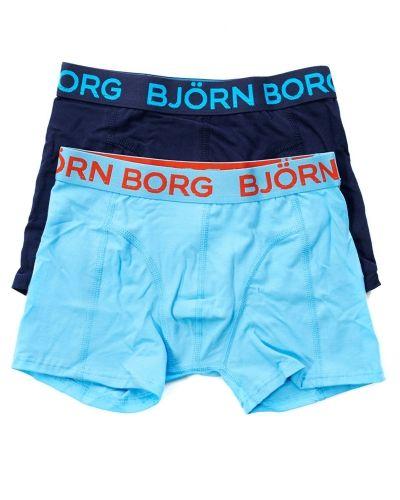 Björn Borg Björn Borg Seasonal Solid Boys Shorts Peacoat 2-pack