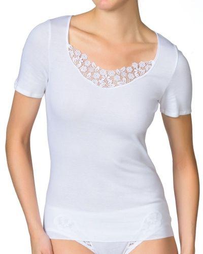 Linnen Calida Feminin Sense Short-Sleeve Top från Calida