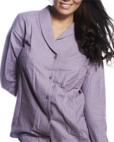 Calvin Klein Pyjamas Shirt Gwendolyn Checkc Calvin Klein pyjamas till dam.