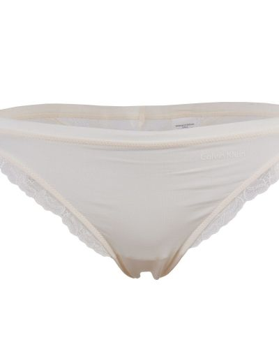 CK Panties with lace Ivory Calvin Klein blandade trosa till dam.
