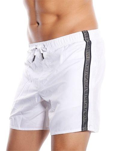Emporio Armani EA Swim Shorts White1 Emporio Armani shorts till herr.