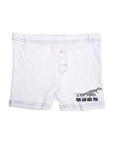 Esprit Basic Dino Boxer Shorts White Esprit boxerkalsong till kille.