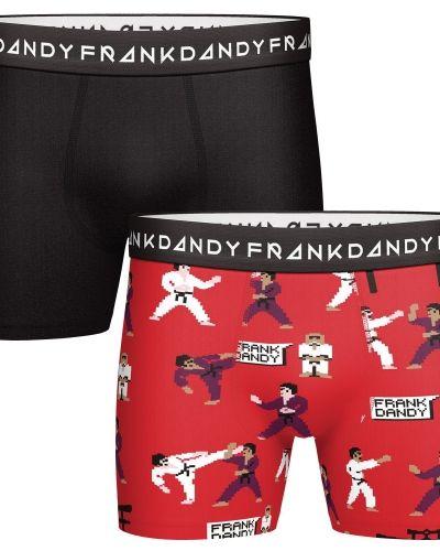 Röd boxerkalsong från Frank Dandy till herr.
