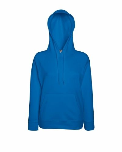 Fruit of the Loom Lady-Fit Light Hooded Sweat Fruit of the Loom tröja till dam.