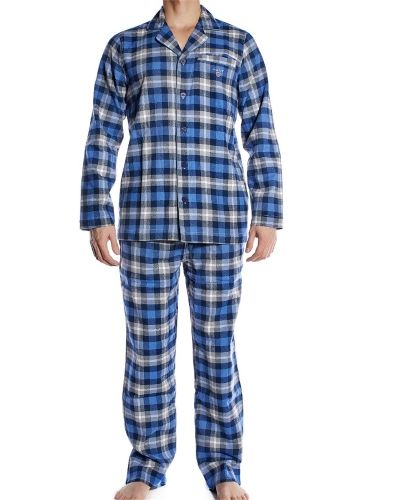 Pyjamas Gant Gift Box Cotton Flannel Pyjama Set Dark Sky från Gant