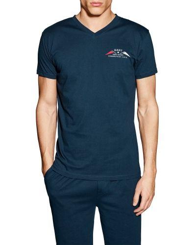 Nattplagg Gant V-neck T-shirt Small Print från Gant