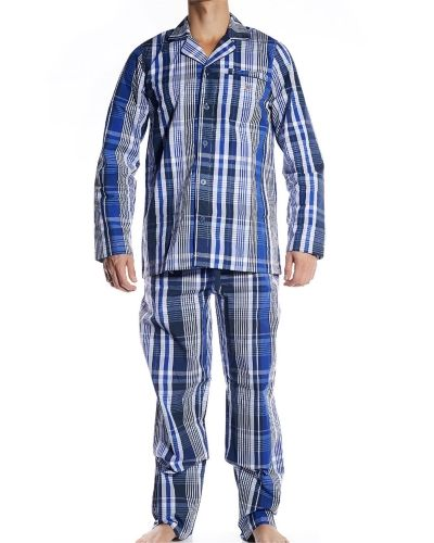 Pyjamas Gant Woven Cotton Pyjama Set Navy från Gant
