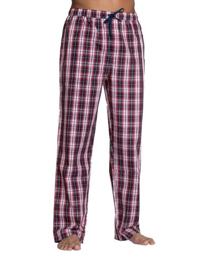 Gant Gant Premium Woven Cotton Pyjamas Trousers Red