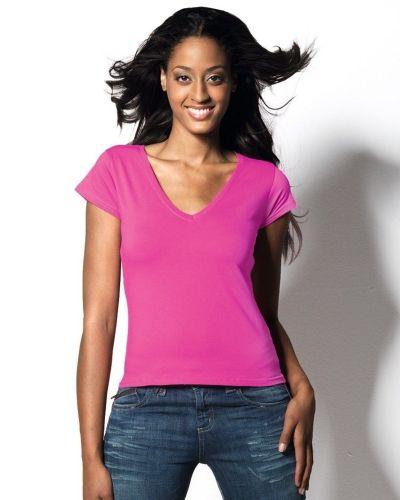 Hanes Beauty V-neck 2-pack - Hanes - Kortärmade träningströjor