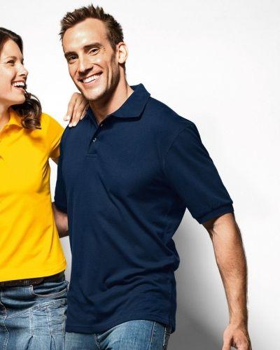 Hanes Beefy Pique Polo Shirt - Hanes - Träningspikéer
