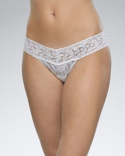 "Hanky Panky Hanky Panky ""I DO"" Low Rise Thong White"