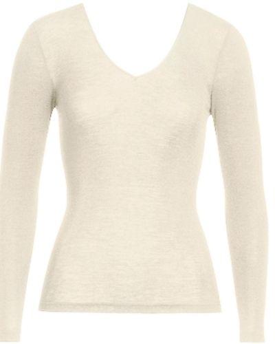 Hanro Hanro Woolen Silk Ls Shirt 263