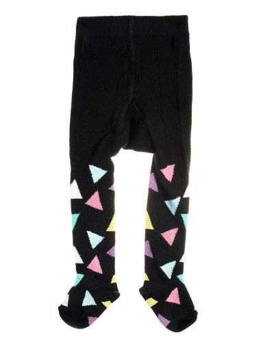 Happy socks Kids Triangle Tights Black Happy Socks leggings till unisex/Ospec..