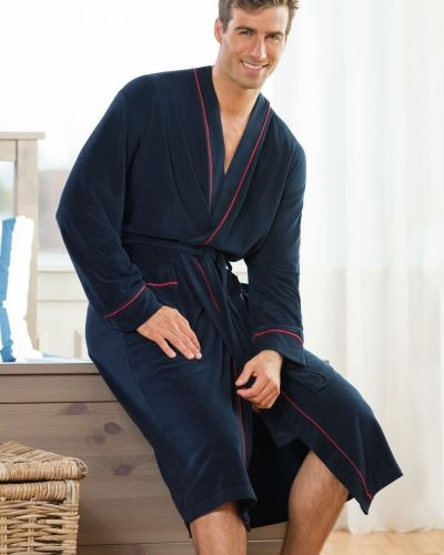 Jockey Bath Robe Fashion Terry 3XL-6XL Jockey morgonrock till herr.