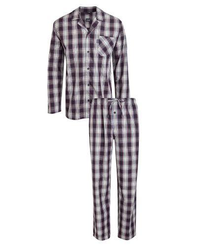 Till herr från Jockey, en röd pyjamas.