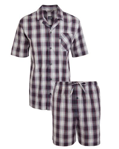 Jockey Short Pyjama Woven 3XL-6XL Jockey pyjamas till herr.
