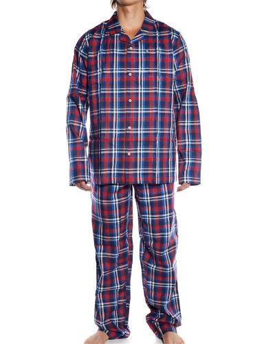 Till herr från Jockey, en blå pyjamas.