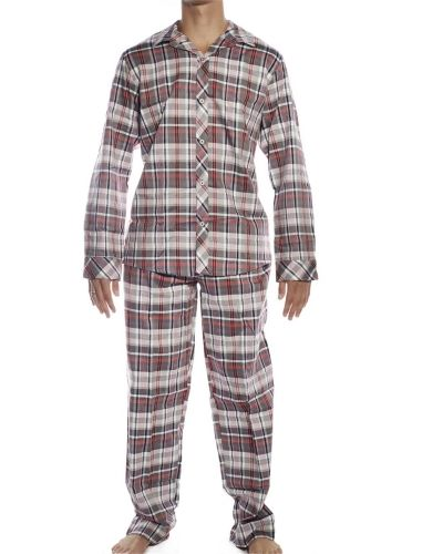 Jockey Jockey Woven Pyjamas Set Red