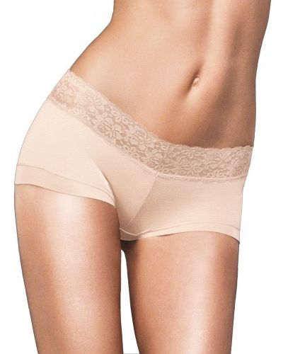 Blandade trosa Maidenform Cotton Boyshort with Lace från Maidenform